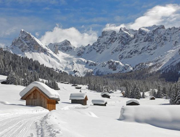 dolomiti di fassa - vacanze nulla neve in trentino