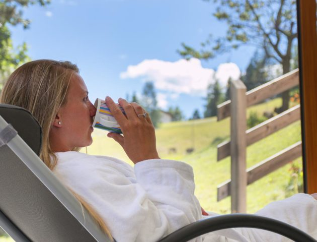 hotel miravalle in soraga - wellness centre and relax area